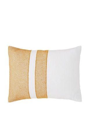 59% OFF Coyuchi Labyrinth Embroidered Linen Pillow Sham