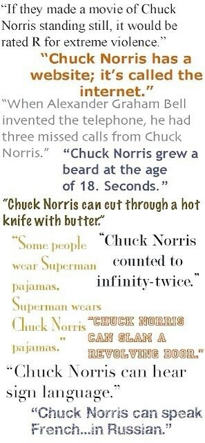 Chuck Norris grew a beard at age 18...seconds. Yes.