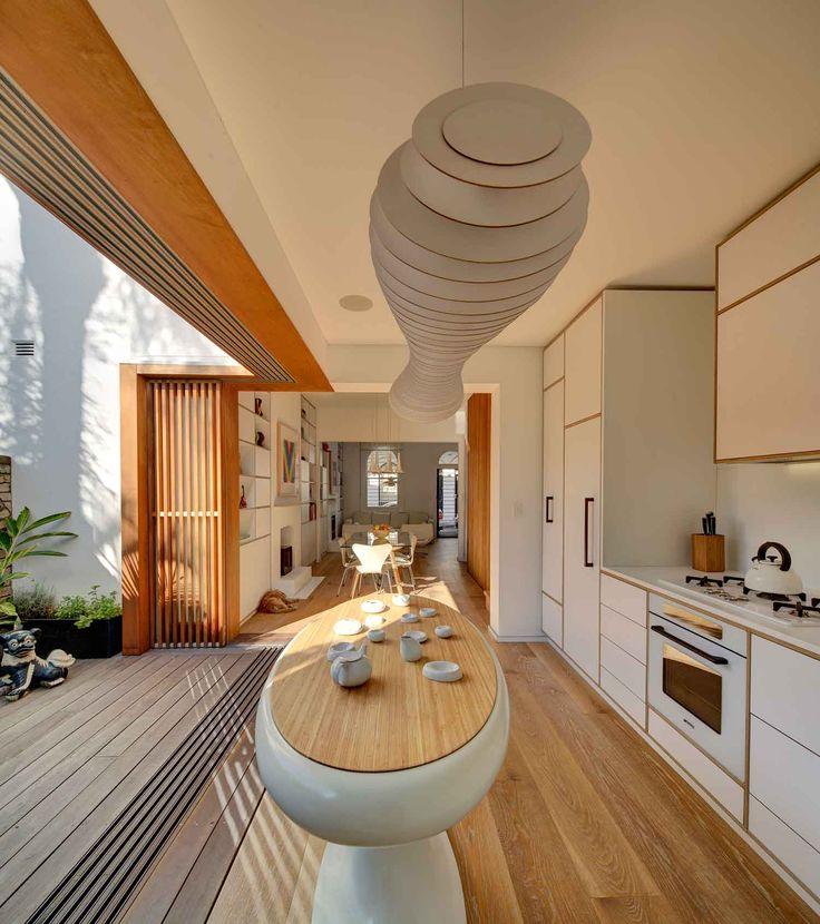 indoor/outdoor space - Tivoli Terrace Renovation by LAVA's Chris Bosse.