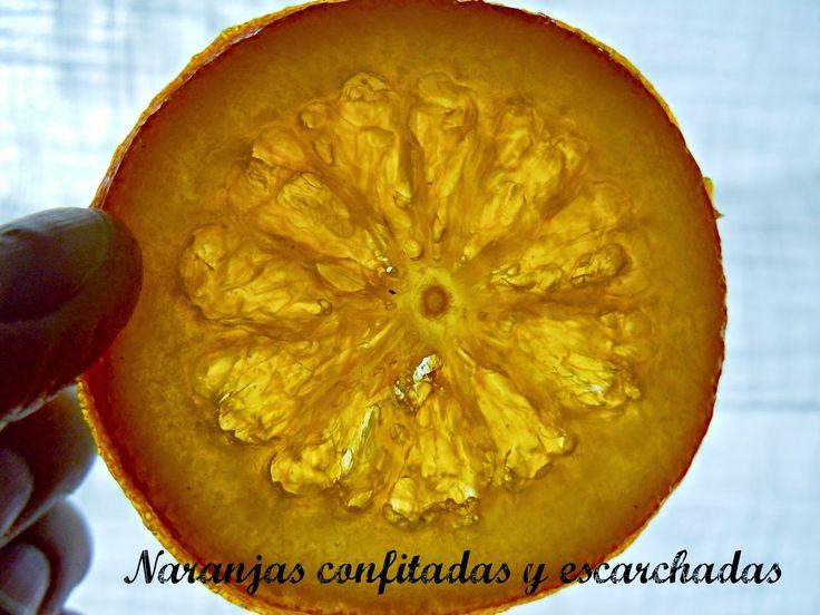 Naranjas Confitadas y escarchadas | Cocinar en casa es facilisimo.com