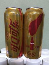 2015 Coca Cola China Beijing 2022 Winter Olympic Games Hosting 500ml Gold Can