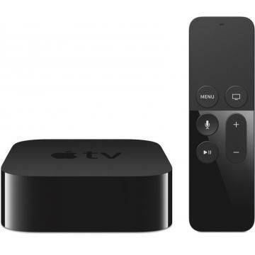 Apple ТВ-тюнер Apple TV 32GB  — 13990 руб. —  ВЫ ЕЩЕ НЕ ВИДЕЛИ ТАКОГО ТЕЛЕВИДЕНИЯ Иногда бывает очень непросто выбрать, что посмотреть. Приходится бесконечно нажимать на кнопки, пробираясь сквозь перегруженные меню и громоздкие списки. С Apple TV нового поколения это осталось в прошлом. Вам больше не нужно путаться в десятках кнопок – теперь телевизор понимает ваши жесты. Все возможности для развлечений – у вас перед глазами. Вы взаимодействуете с экраном напрямую, даже сидя на другом конце…