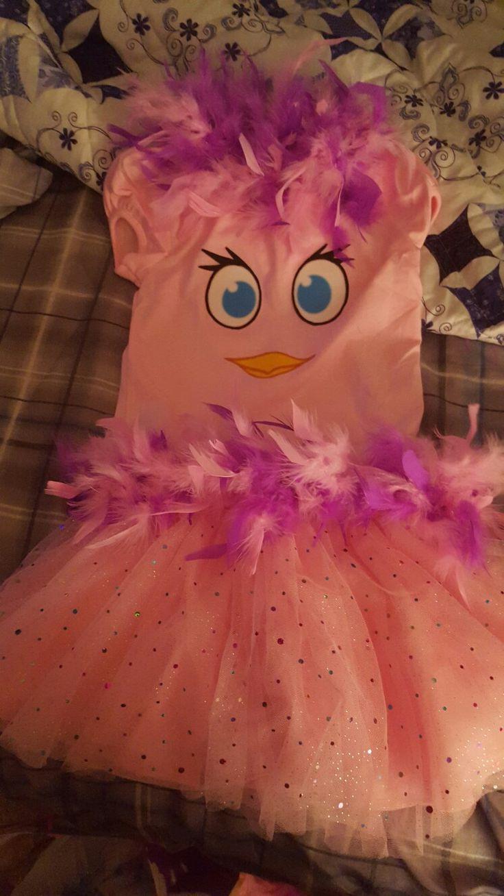 Angry Birds Stella Costume