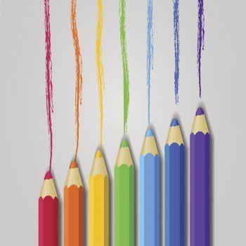 La disputa de los colores. Cuentos para niños