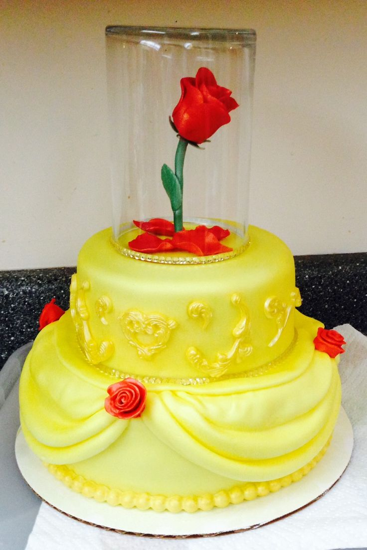 38 best Belle cakes images on Pinterest The beast Biscuits and