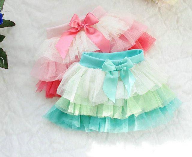 Fantasia dq-4k infantil los niños tutu falda de primavera 2014 baby& niños arco iris falda falda de los niños para bailar sin gastos de envío al por menor