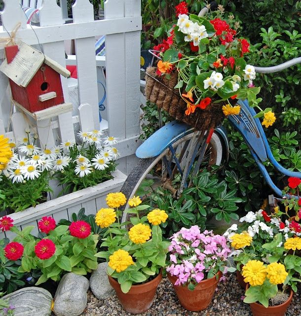 самое красивый декор сада фото фото может