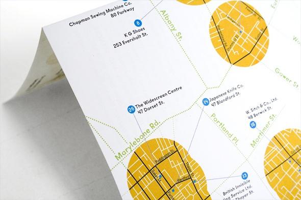 best specialist suppliers in London map