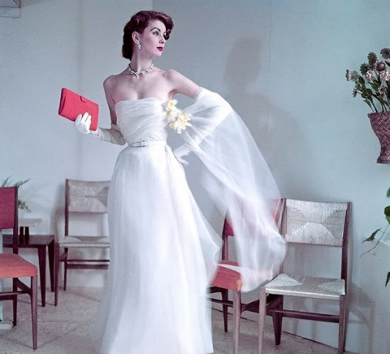 Beautiful 50s Givenchy dress