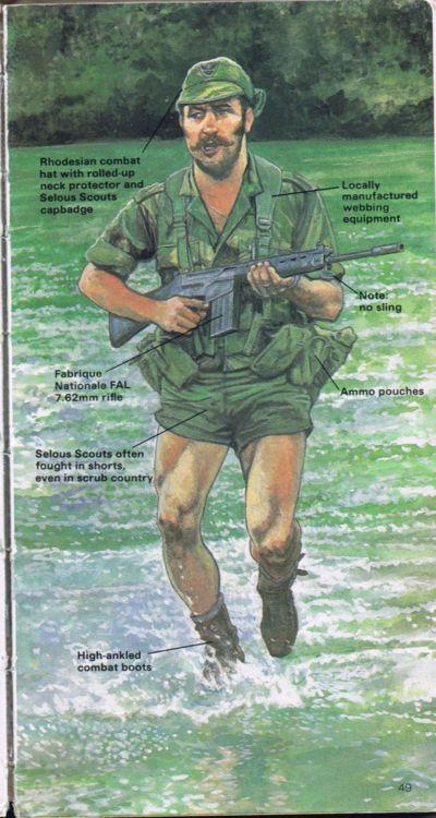 Selous Scout kit guide :)