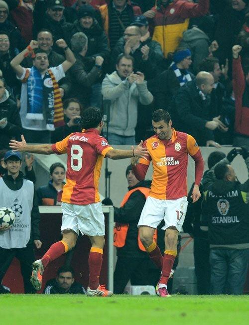 Galatasaray - FC Schalke 04  Burak!!!!