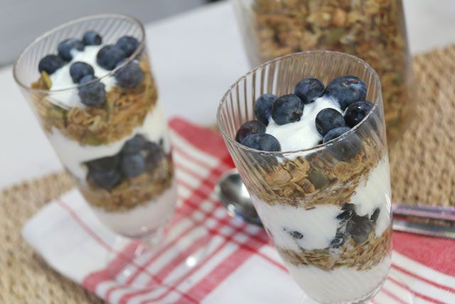 Seeds of Power Granola. The Marilyn Denis Show | Cooking | Laurie David's Healthy Dessert Recipe
