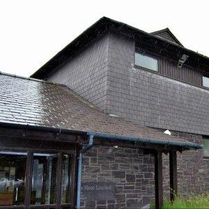 Офис компании Welsh Slate, карьер Penrhyn, Северный Уэльс, Великобритания