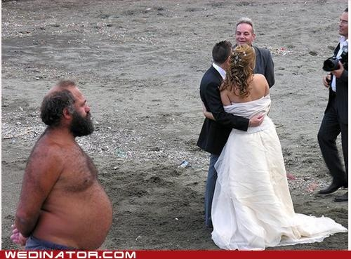 Best Wedding Photobomb The Invitation Did Say That Was Dressy Casual