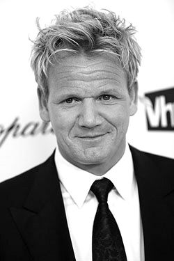 It would be a dream come true to have Gordon Ramsay cook me a meal. And he's stinking adorable :)