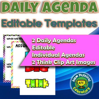 The daily agenda is what helps drive instruction and learning. It keeps students focused on what they are learning, why, and how to know they are learning. This set helps support that in a way that encourages students to think and is easy for you, the teacher, to manage the agenda 180 plus days a year.