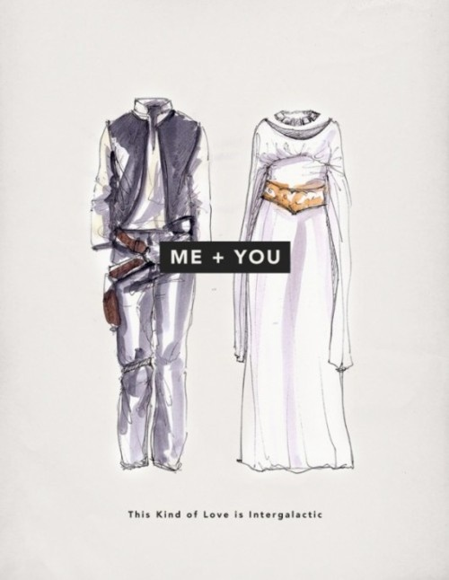 You love him. He knows.: Geek, Love Is, Stars War Wedding, Hans Solo, Valentines Cards, Wedding Outfit, Valentines Day Cards, Starwars, Read Princesses