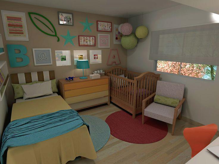 Decoração quarto de menino e menina