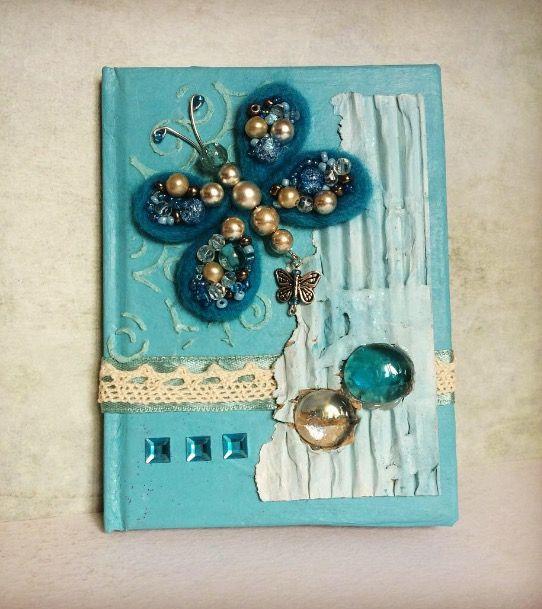 Блокнот, ежедневник, артбук, декор блокнотов