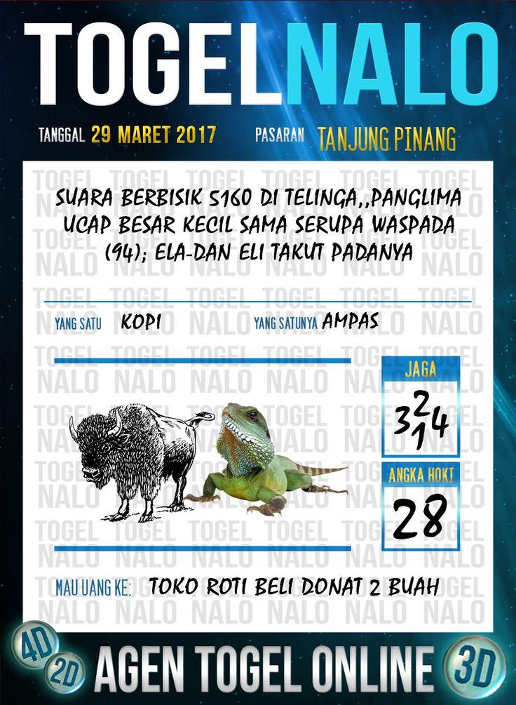 Kode Jitu 6D Togel Wap Online TogelNalo Tanjung Pinang 29 Maret 2017