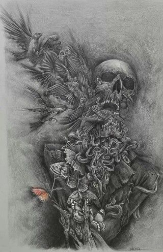 The cycle of life and death as drawn by Noia