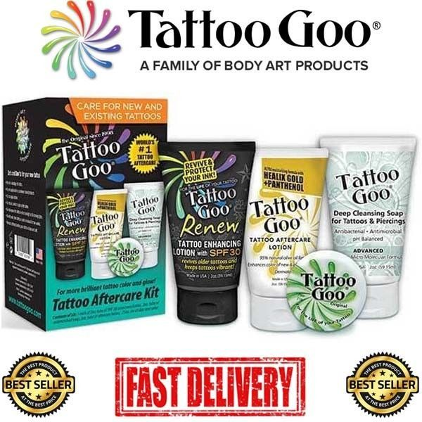 Tattoo Goo 4 In 1 Aftercare Kit The Best Aftercare For Your New