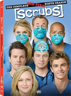 Scrubs  Season 9    Imagery: One Eye symbolism on JDs forehead/Pineal Gland