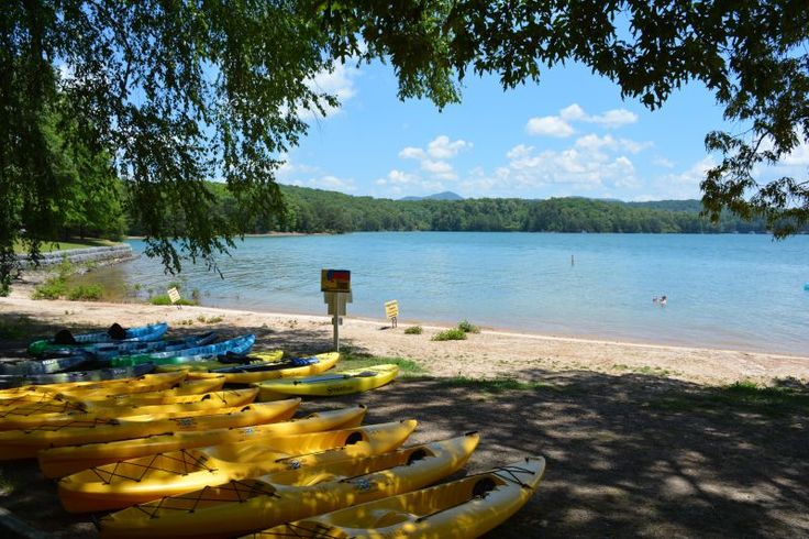 Blue Ridge Georgia Lake Blue Ridge Outfitters kayak and paddle board rentals