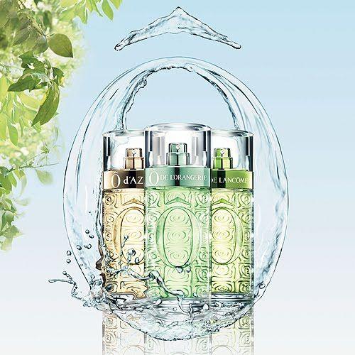 Perfume - parfum Lancôme. Ô d'Azur- Ô de l'Orangerie- Ô de Lancôme