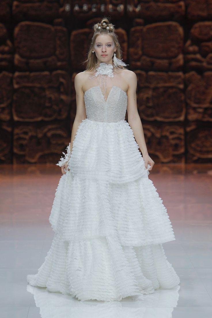 25 best Vestidos de novia palabra de honor images on Pinterest ...