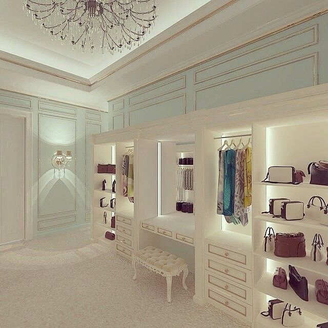 Beautiful Bedroom Girls With Dressing Room: 971 Best Images About Walk In Closets On Pinterest