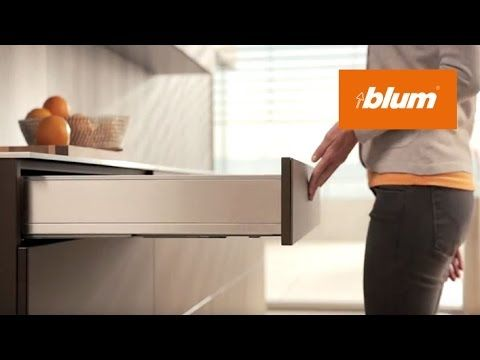 TIP-ON BLUMOTION for drawers: two functions - fascinatingly combined