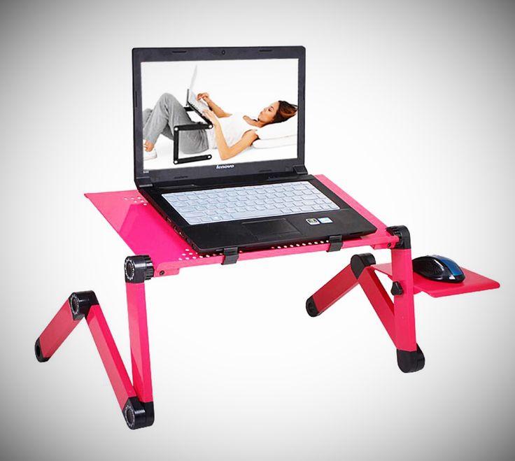 Soporte De Mesa ajustable Portátil Lap Sofá Cama Bandeja Ordenador Portátil Escritorio cama mesa SD5