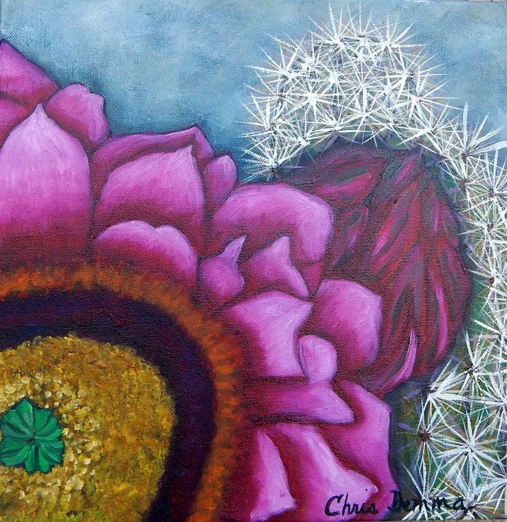 """Pink Jubilee I  12 x 12"""" oil available"""