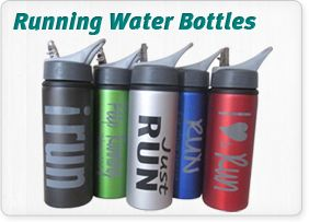 Running water bottles - Perfect! Buy the lot to give to your running friends in Christmas!