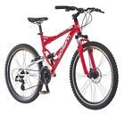26-Inch Wheels Red Schwinn Protocol 1.0 Men039s Dual-Suspension Mountain Bike7  ISBN - Does not apply, UPC - 038675275607, EAN - 0658109626494, Frame Size - L, Wheel Size - 24, Color - Red, Frame Material - Steel, Suspension - Rear, Number of Gears - 24, Shipping_ - Free Fast