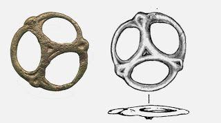 Szíjelosztó karika (Ibrány - Esbó-halom, 199. sír) - Hagyomány és múltidéző