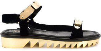Giuseppe Zanotti Design serrated sole sandals - $472.50