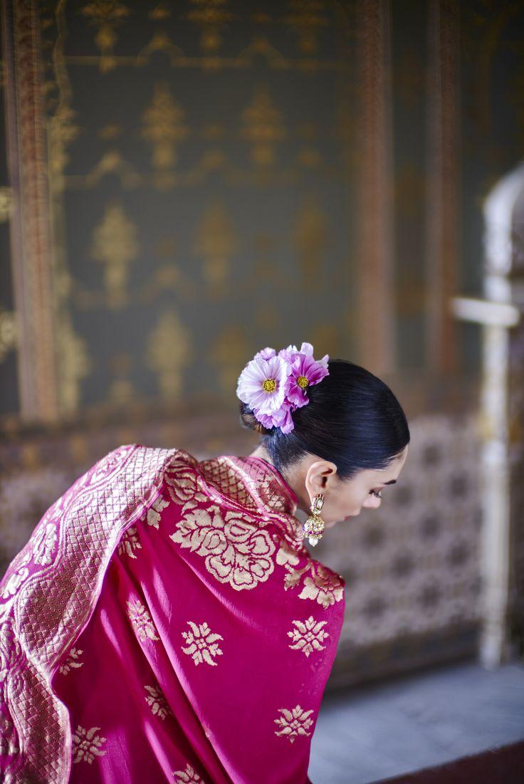 #anitadongre #summer16 @aditiraohydari #signature #WeavesofBanaras #banaras #benaras #rajasthan #heritage #bridal #Indian #ensemble #pinkcity #earrings @jet_gems #jewellery #handcrafted #vintage #luxury #elegant #bridal #regal #jadau #preciousjewellery #pearls #uncutdiamonds #fashion #aditiraohydari #bollywood #celebrityfashion #instalove