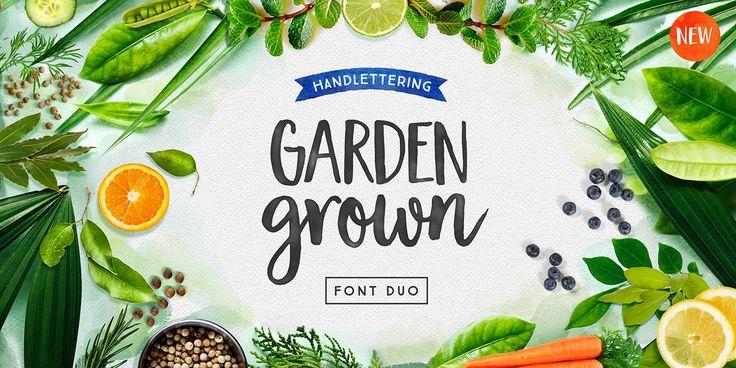 Garden Grown - Webfont & Desktop font « MyFonts