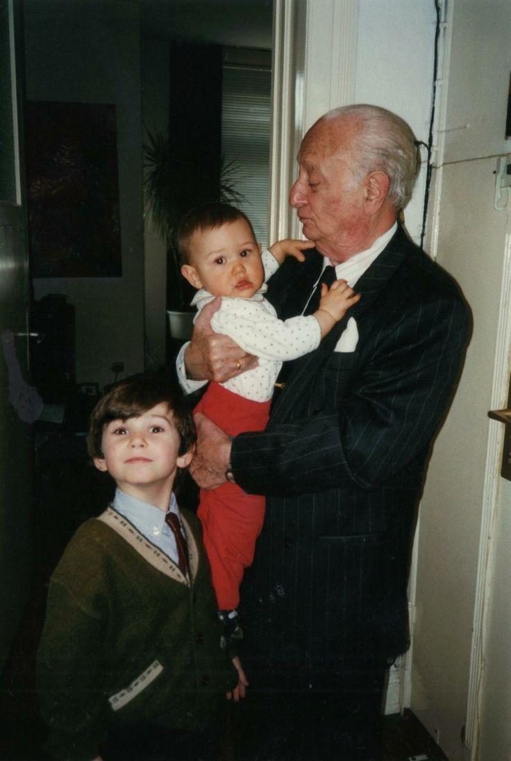 Wladyslaw Szpilman with his grandchildren; a forgiving survivor and loving man of God (1911 - 2000)