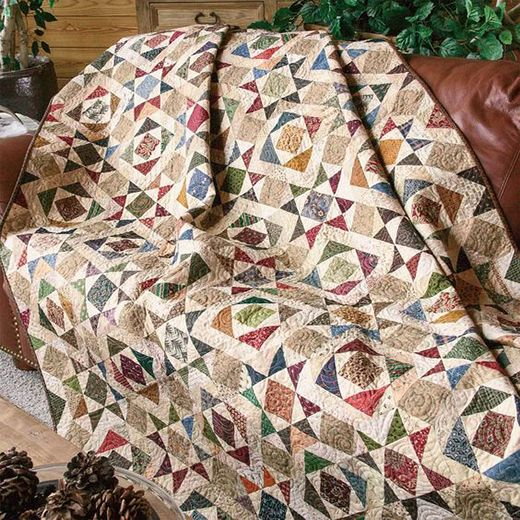 Splendor in the Scraps Quilt Free Pattern