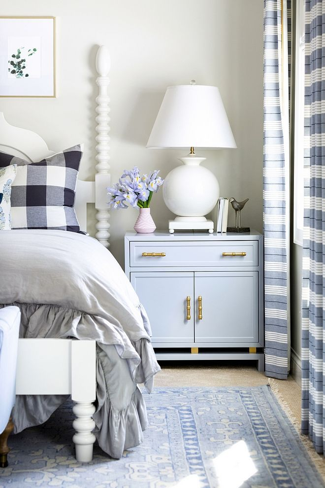 Bedroom Nightstand Decorating Ideas Large Nightstand With White Table Lamp Small Vase And Boo Bedroom Night Stands Home Decor Bedroom Bedroom Decor On A Budget