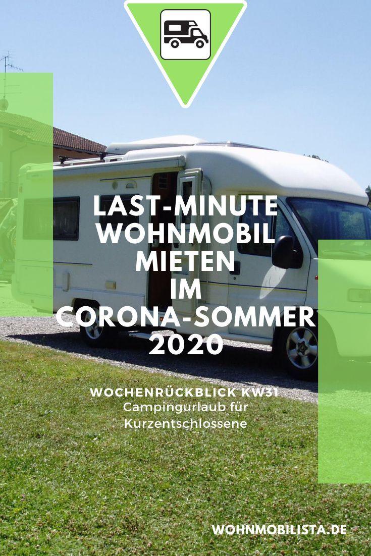 Last-Minute Wohnmobil mieten  Camping News Wochenrückblick – KW10