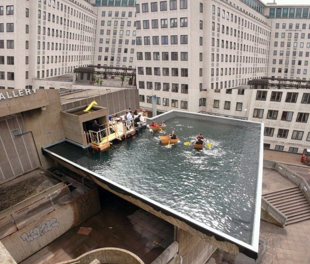 Hayward Gallery: Boating pond