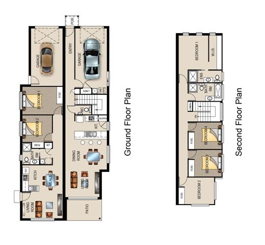 186 Best Floor Plans Duplex Images On Pinterest Floor Plans Terraced House And Architecture