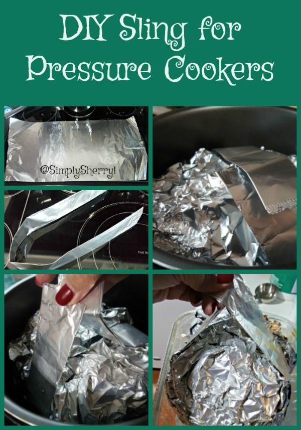 Have you burned your fingers trying to get something out of the pressure cooker? You will love my DIY Sling for Pressure Cookers. No more burned fingers!