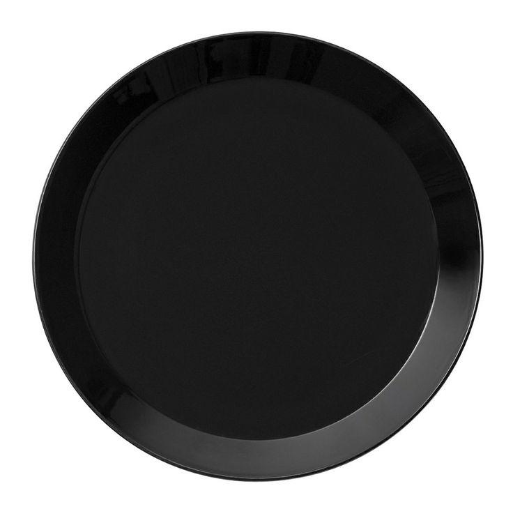 Iittala Teema Lautanen, 21 cm Musta