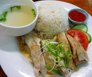 Ha, Nasi Hainan. Haiyaaaa.. :D hainanese chicken rice