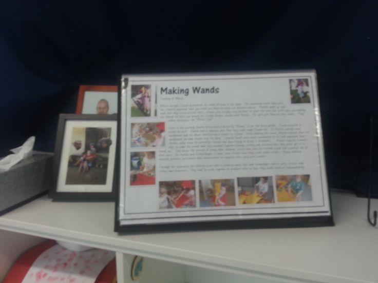 Learning Story documentation for Kindergarten